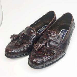 Cole Haan Brigano weaved tassel loafers sz 8